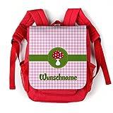 Produkt-Bild: Striefchen Rucksack für Kinder - Glückspilz - Wunschname