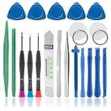 BaboTech 20-Teiliges Universal-Handy Reparatur Werkzeug Set für Ihr iPhone, Galaxy, PC Oder Laptop beinhaltet die Wichtigsten Werkzeuge im Kit.