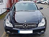 Mercedes W219 CLS Diamant GITTER GRILL AMG OPTIK Modelle bis 2008