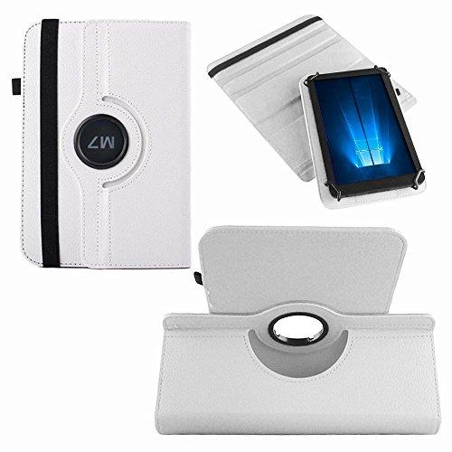 UC-Express Hülle Blaupunkt Enterprise 1020CH Tablet Tasche Schutzhülle Universal Case Cover, Farben:Weiß