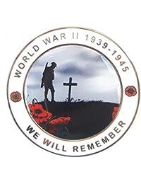 Guerre Mondiale ll WW2 Militaire Commémorative Collectionneurs Pièce de monnaie + Coffret Cadeau