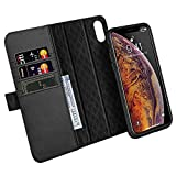 ZOVER Coque iPhone XS Max,Étui iPhone iPhone XS Max Détachable Housse Portefeuille...
