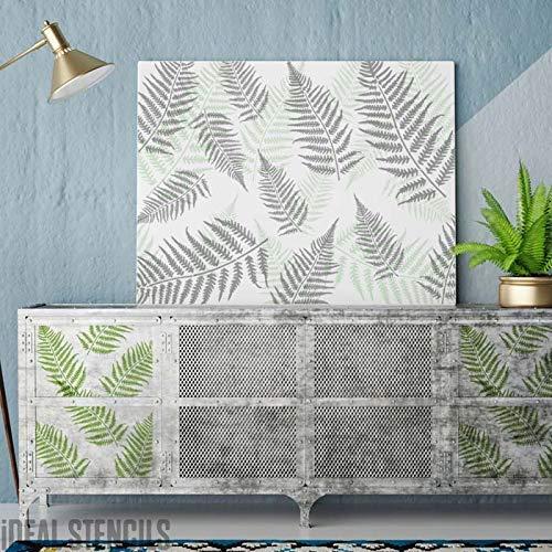 one Tropisch Schablone Malen Wände Möbel, Stoffe Erstellen Maßgeschneidert Bemalt Oberflächen To Home Dekor & Bastel-Projekte Wiederverwendtbar Mylar Schablonen von Ideal Stencils ()