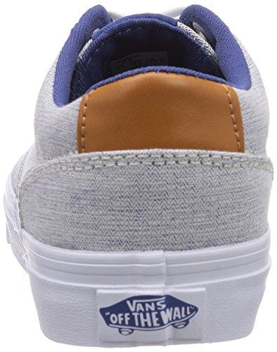 Vans Winston, Sneaker Donna Blu (Blau ((Herringbone) n FGH))