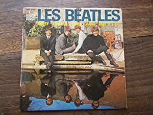les Beatles : misery - Anna (go to him) - Chains - Baby it's you - disque Odéon SOE 3778