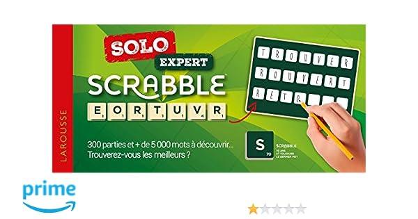 Amazon.fr - Scrabble Solo expert - Sabine Descours, Véronique Tahon - Livres 296c8cc707d4
