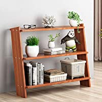 YIJIAHUI-Home Bookcases Modern Bookshelf Display Open Shelf Organizer For Living Room, Study, Bedroom (Color : Brown, Size : 59x51x15cm)