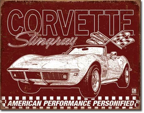 chevrolet-corvette-69-stingray-targa-placca-metallo-piatto-nuovo-30x40cm-vs4643-1