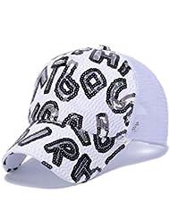 Super BAB filles Casquette de baseball chapeau de soleil casquette en maille