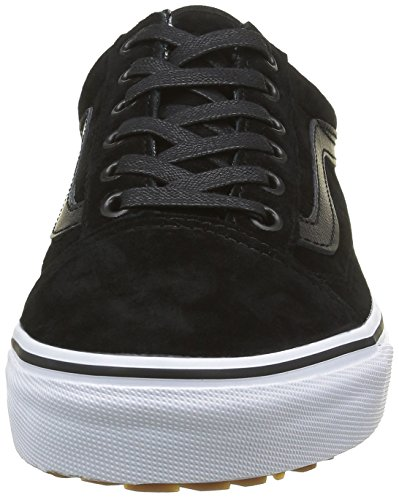 Vans U Old Skool, Baskets Basses Mixte Adulte Noir (MTE Black/Tweed)