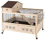 Ferplast Kaninchenkäfig 107x65x96cm Kaninchenstall Hasenstall Kleintierstall