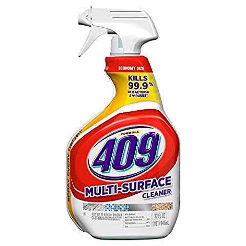 Clorox Formula 409 All-Purpose Cleaner, Antibacterial, 1 Qt (32 Fl Oz) 946 Ml