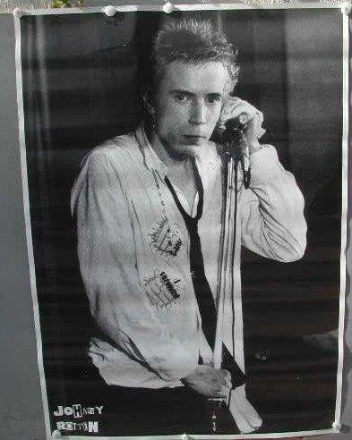 Sex Pistols-Johnny Rotten-60 x 83 cm/Poster mostra