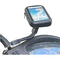 Per iphone 6Plus iPhone 6S Plus 5.5universale moto scooter elettrico auto specchietto retrovisore supporto borsa per GPS Custodia impermeabile - Supporto Della Borsa Di Visualizzazione