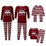 Family Matching Clothes, Christmas Newborn Infant Baby Boy Girls Sleepwear Nightwear Romper Jumpsuit Family Pajamas Sleepwear