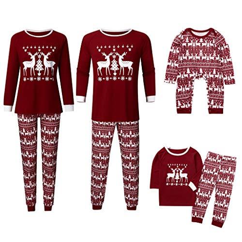 Toamen Pigiama Pigiami Natale Famiglia Pigiami Donna Pigiama Uomo Pigiama Bambina Invernali - Natale Famiglia Pigiami da Notte...