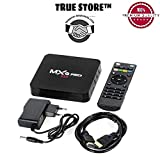 #8: TRUE STORE MXQPRO Quad Core Google Android ULTRA HD 4K TV Box with wifi LAN Android 6.1 Smart TV Box(Make Your Normal LED TV into Smart TV . code 55
