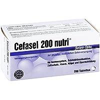 Cefasel 200 nutri Selen-Tabs, 200 St. Tabletten preisvergleich bei billige-tabletten.eu