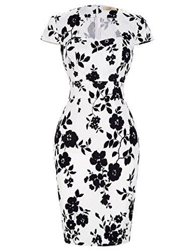 Xxl $10 Kostenloser Versand Unter Kleid (1950er vintage rockabilly kleid festliches kleid geburtstag kleid sommerkleid 2XL CL7597-10)