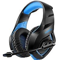 La plus récente sur-oreille PS4, Xbox One, un casque de jeu vidéo Xbox one S avec un grand son stéréo est le meilleur choix pour vous!    Son de haute qualité   Avec le haut rendement 50mm conducteur de néodyme magnétique, le casque offre un meilleur...