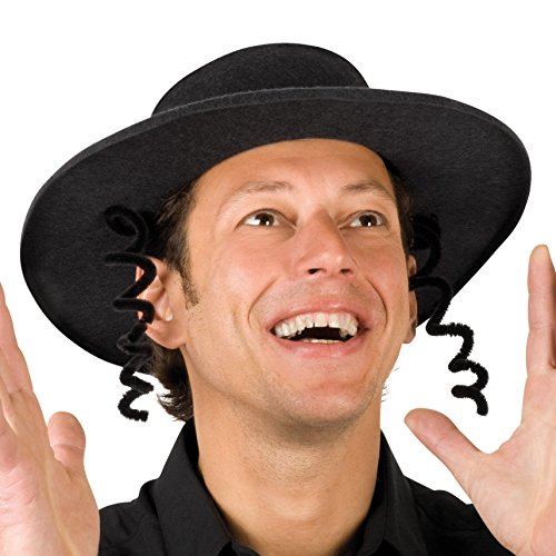 Boland 04193 - Erwachsenenhut Rabbi Arnaud, Einheitsgröߟe, (Rabbi Kostüme Halloween)