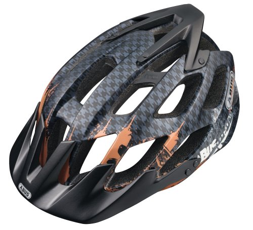 ABUS HILL BILL   CASCO DE CICLISTA NEGRO ENGINE TALLA:54 58 CM