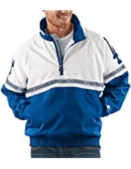 "Los Angeles Dodgers MLB Starter ""Academy"" 1/2 Zip Pullover Embroidered Jacket Veste"