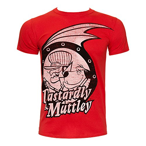 Dastardley & Muttley Adults T Shirt - 100% Official