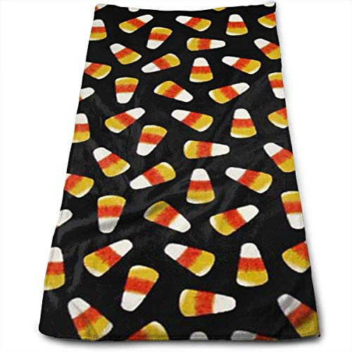 ewtretr Luxus Handtücher,Halloween Candy Corn Microfiber Beach Towel Large & Oversized - 11.8