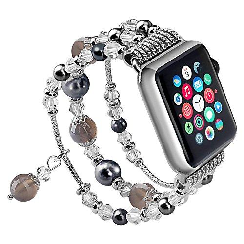 SEANADO Compatible Watch Armband Damen 40mm(38mm)/44mm(42mm) für iwatch Series 4/3/2/1-11243 -