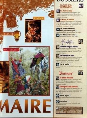 DRAGON MAGAZINE N? 28 du 01-02-1996 HEROIC FANTASY - SCIENCE FICTION - FANTASTIQUE - ENCYCLOPEDIE DES MONDES IMAGINAIRES NOUVELLE FORMULE - FAMILIER - MARCHANDS - BIRTHRIGH