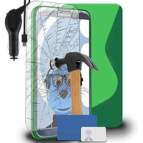 iTALKonline Samsung N7100 Galaxy Note 2 SCH-I605 SCH-R950 SPH-L900 Verde