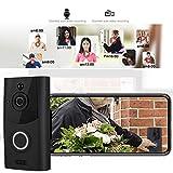 720P HD Videocitofono Senza Fili - Connessione WIFI wireless, Chiamate video e...