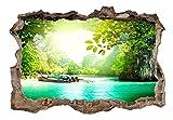 murando - 3D ILLUSIONE OTTICA   140x100 cm   Carta da parati sulla fliselina   Hit   Carta da parati in TNT   Quadri murali   Fotomurale   Poster Panorama Paesaggio Natura c-C-0107-t-a