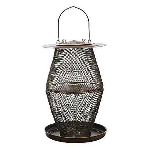 No/No Vogelfutterhaus Vogelfutterspender Laterne, bronze