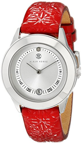 Klaus Kobec Women's KK-10017-03 Christy Analog Display Japanese Quartz Red Watch