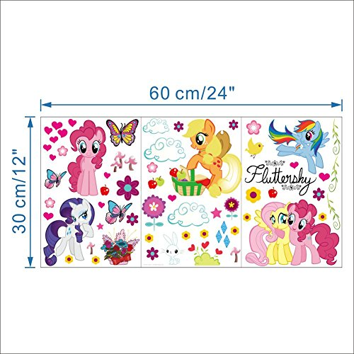 51aK2WhMqOL My Little Pony Wall Stickers (Over 30 Stickers) From World of Stickers UK best buy Review