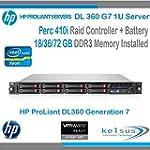 HP ProLiant Server DL360 G7 1U - DUAL...