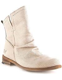 Felmini Damen Schuhe - Verlieben Bomber 8950 - Cowboy   Biker Stiefel -  Echte Leder - e6e98b05dc