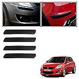 #8: Vheelocityin Car Bumper Safety Guard Protector Black For Maruti Suzuki Swift New
