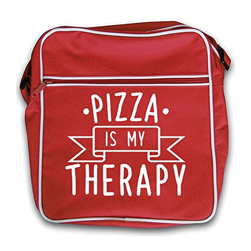 pizza-is-my-therapy-retro-flight-bag-red