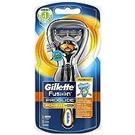 Gillette Fusion ProGlide Power - Maquina de afeitar para hombre con tecnología Flexball, 1 unidad