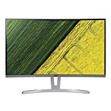 Acer ED273wmid 68,6 cm (27 Zoll) Multimedia Curved Monitor (Full HD, 1.920 x 1.080, 75hz, 4ms Reaktionszeit, ZeroFrame, DVI, HDMI, VGA, Audio Out) Silber
