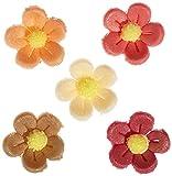 Günthart 2930 Kleine Marzipan Blumen, antik, 120 stk (1 x 96 g)