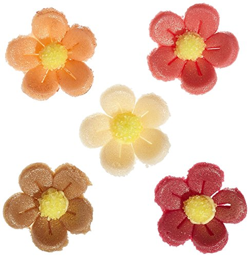Günthart 2930 Kleine Marzipan Blumen, antik, 120 stk (1 x 96 g) Blume, Dessert