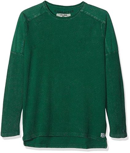 Garcia Kids Jungen Sweatshirt H73610, Grün (Cricket 2319), 152 (Herstellergröße: 152/158)