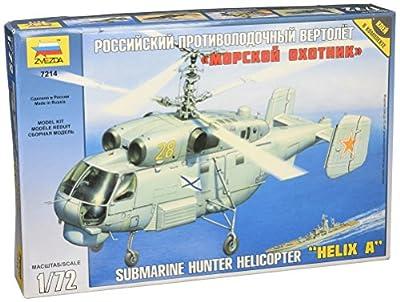 Zvezda 500787214–1: 72helicopter Ka UBoot Hunter Helix A by Zvezda