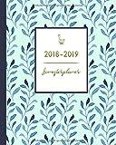 Semesterplaner 2018-2019: trendiges Cover-Design, von August 2018 bis Juli 2019, 20 x 25 cm, 1 Doppelseite pro Woche (Alles fürs Studium, Band 1)