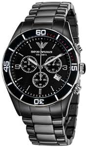 Emporio Armani Analog Black Dial Men's Watch - AR1421