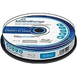 MediaRange MR509 - Discos de Blu-ray vírgenes (10 unidades), multicolor